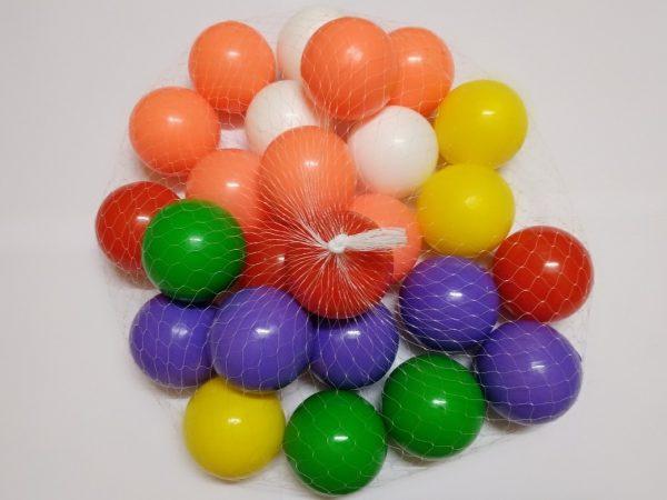 Plastic balls 2.5 inch