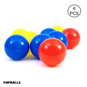 Plastic Balls for kids and ball pool 12cm- Set of 6 balls