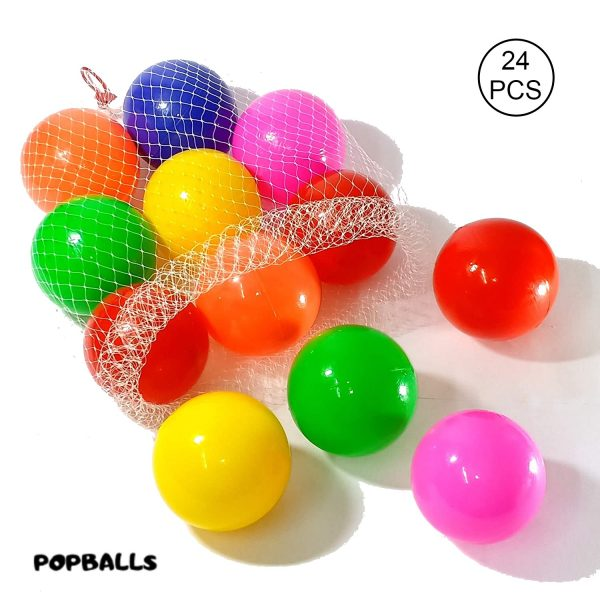 Colorful Plastic Balls 8cm